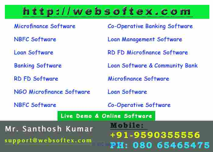 NBFC Software-Pigmy Software-Loan Software-Co-Operative-Accounting ottawa