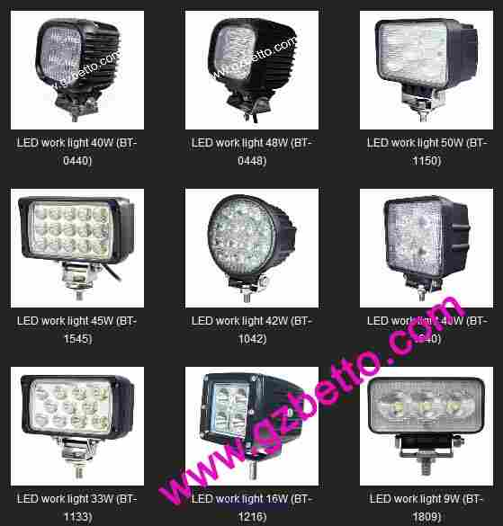 Wholesale LED work light, LED work lamp, LED working lights ottawa