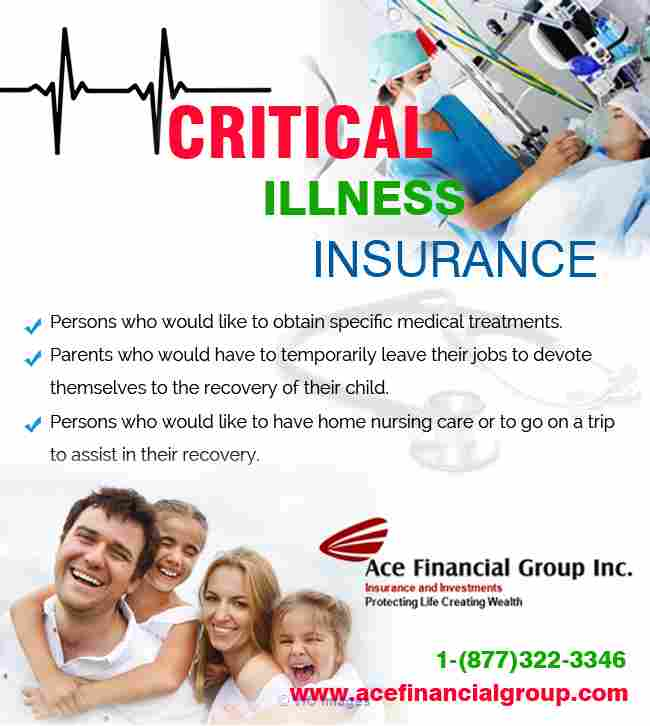 Critical Illness Insurance Mississauga Ottawa, Ontario, Canada Annonces Classées
