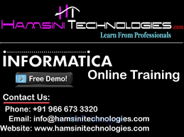 Informatica Online Training Ottawa, Ontario, Canada Classifieds