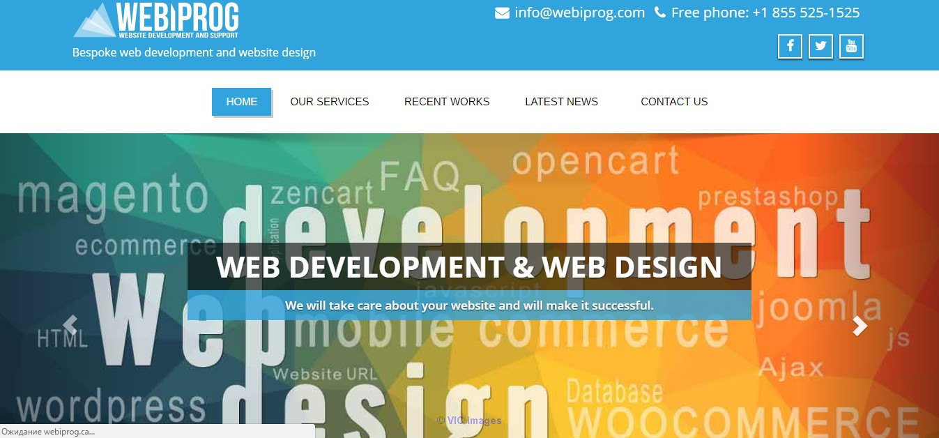Webiprog :: Bespoke web development for websites and ecommerce Ottawa, Ontario, Canada Annonces Classées