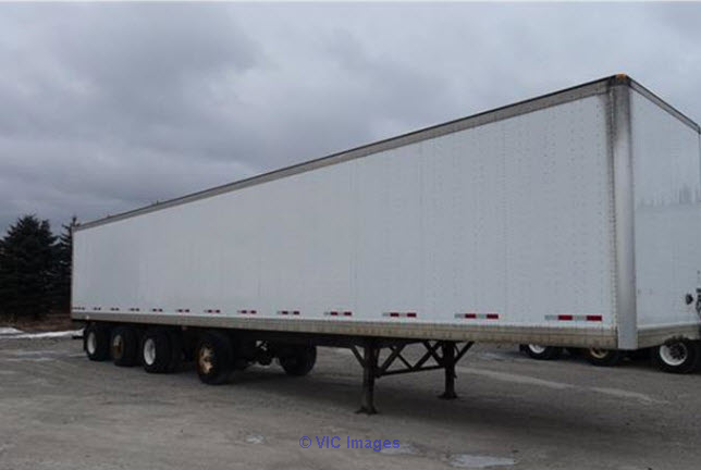 Rent 53` Dryvan trailer quad axle Ottawa, Ontario, Canada Classifieds