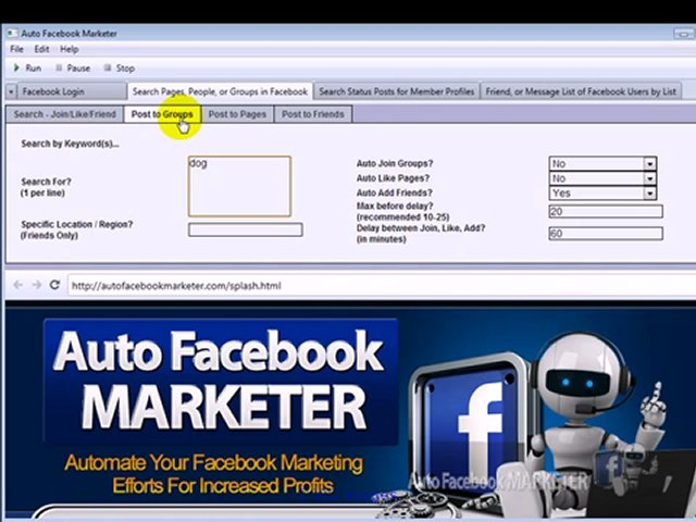 Free Auto Facebook Marketer 3.02 Ottawa, Ontario, Canada Annonces Classées