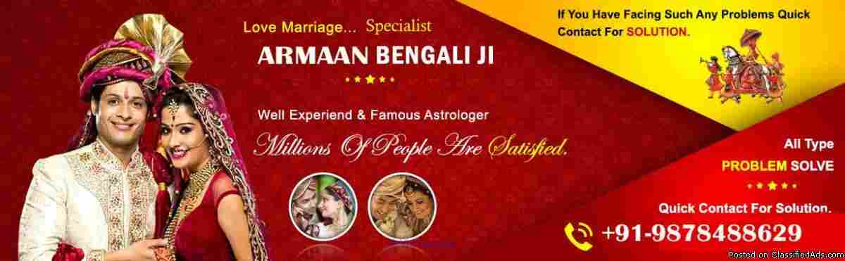 INTERCAST LOVE MARRIAGE SPECIALIST BABA JI USA 9878488629 ottawa