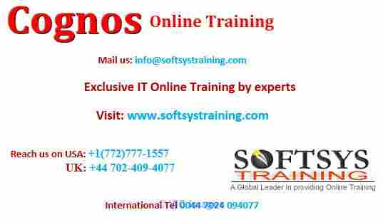 Cognos Tutorial for Beginners ottawa