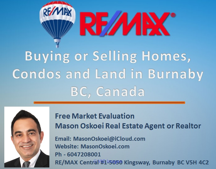 Buying a home in Burnaby BC, Real Estate Market Canada | RE/MAX Realty Ottawa, Ontario, Canada Classifieds