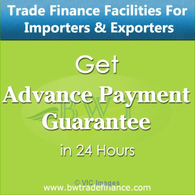 Advance Payment Guarantee for Developers & Suppliers / Exporters Ottawa, Ontario, Canada Classifieds