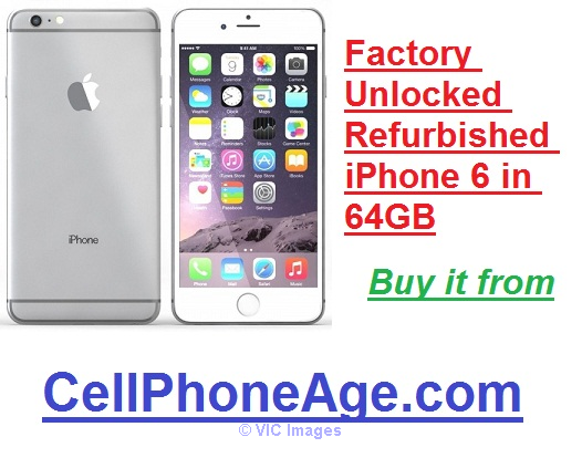 WTS factory unlocked refurbished iPhone 6 in 64GB Ottawa, Ontario, Canada Annonces Classées