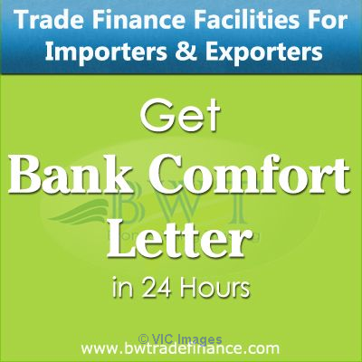 Letter of Comfort MT799 for Huge Commodity Trade Deals Ottawa, Ontario, Canada Annonces Classées