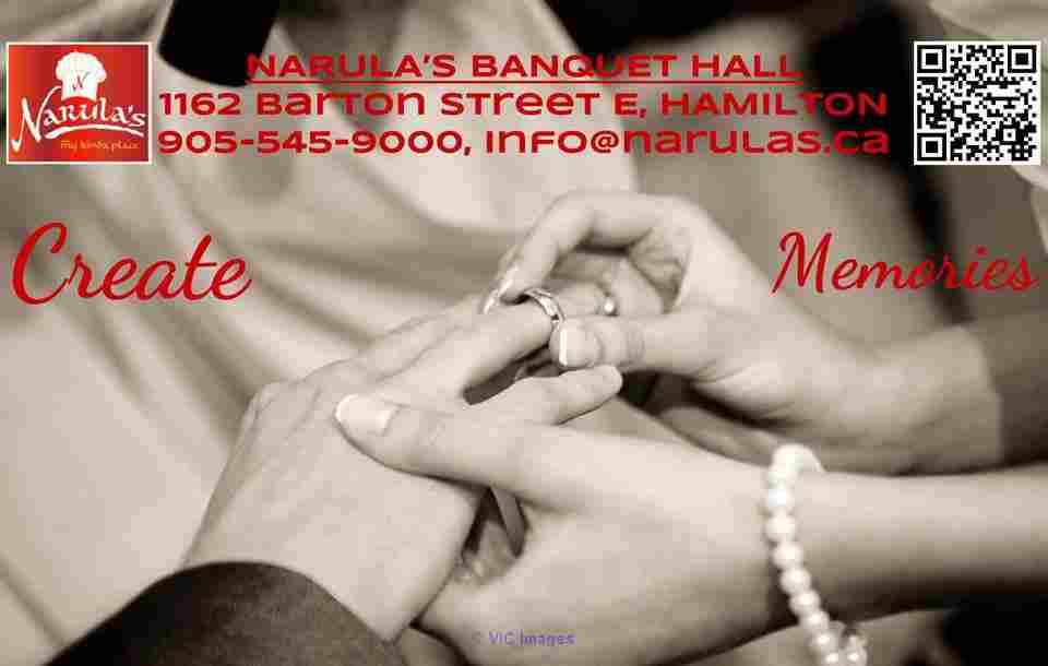 Narulas Banquet Hall Dundas   Ottawa, Ontario, Canada Classifieds