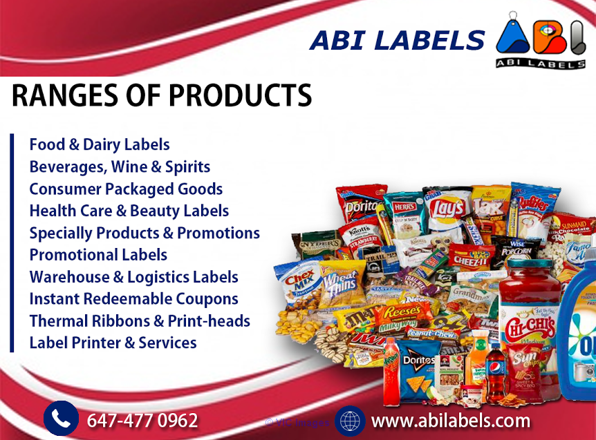 ABI Labels Can Help New Brands Or Products Ottawa, Ontario, Canada Classifieds