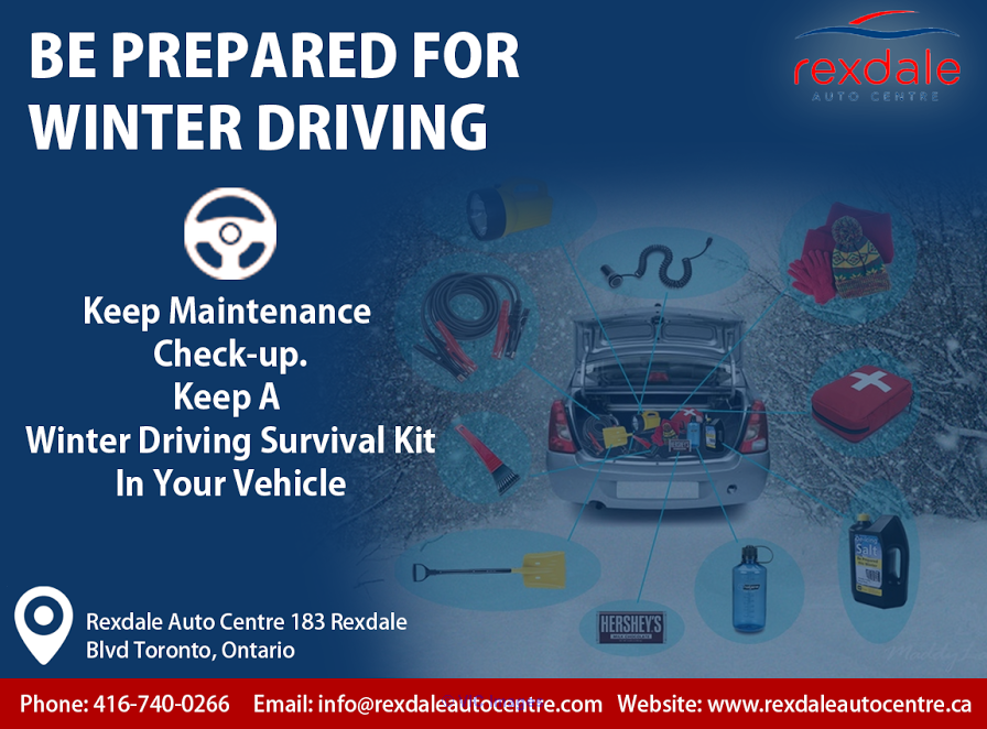 Be Prepared For Winter Driving Ottawa, Ontario, Canada Classifieds