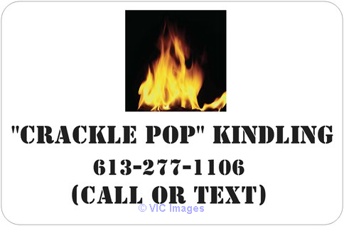 CRACKLE POP KINDLING: GET THE GOOD STUFF! IGNITE IT RIGHT! Ottawa, Ontario, Canada Annonces Classées