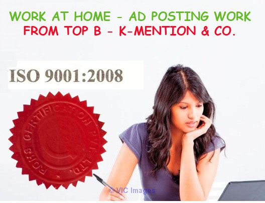 Simple Homebased ads posting work call 9898665104 - Surat ottawa