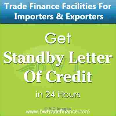 Get Standby Letter of Credit – MT760 for Importers and Exporters ottawa