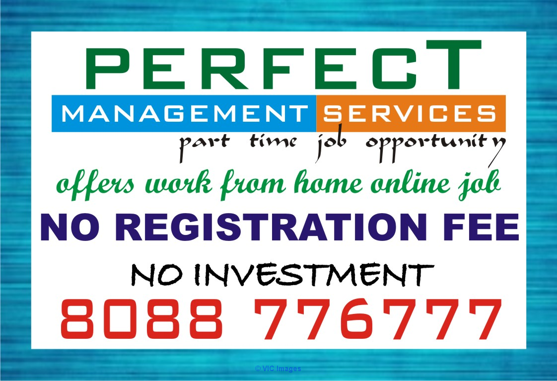 without Investment and registration fees Part time job ottawa