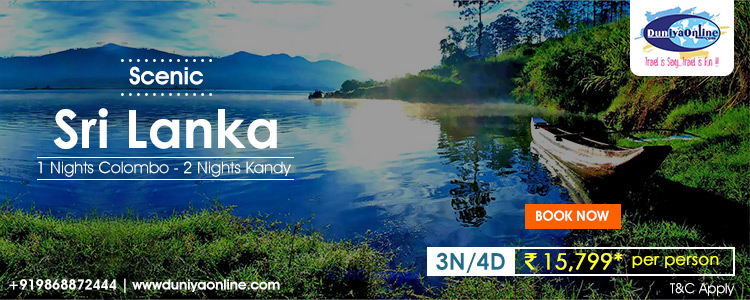 Sri Lanka 3N/4D Holiday Tour Packages ottawa