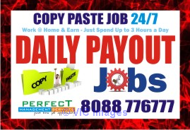 Copy paste job Daily Payment | Part time Job | work at home earn daily ottawa