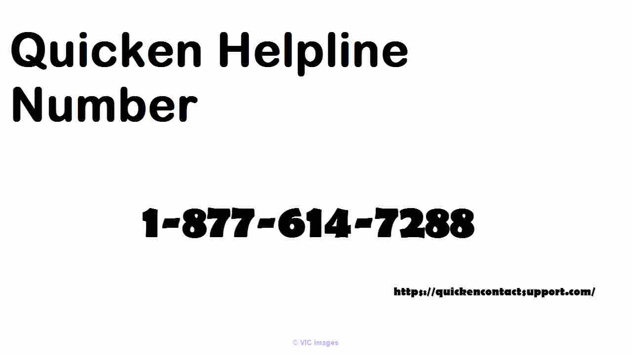 Quicken support number remains available to all the clients  Ottawa, Ontario, Canada Classifieds