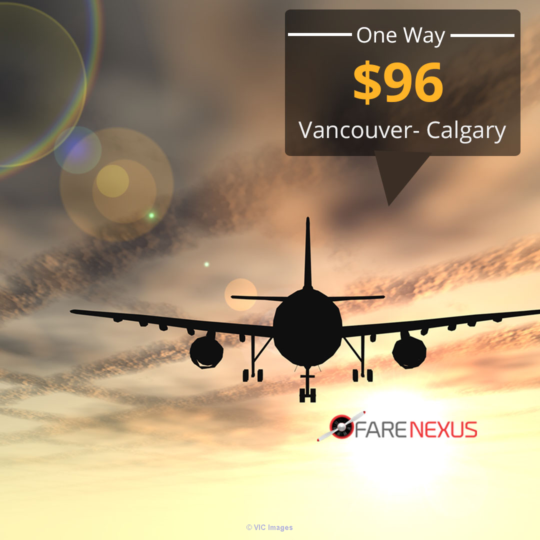 Cheap air tickets | Vancouver- Calgary  | CAD $96 Onwards Ottawa, Ontario, Canada Classifieds