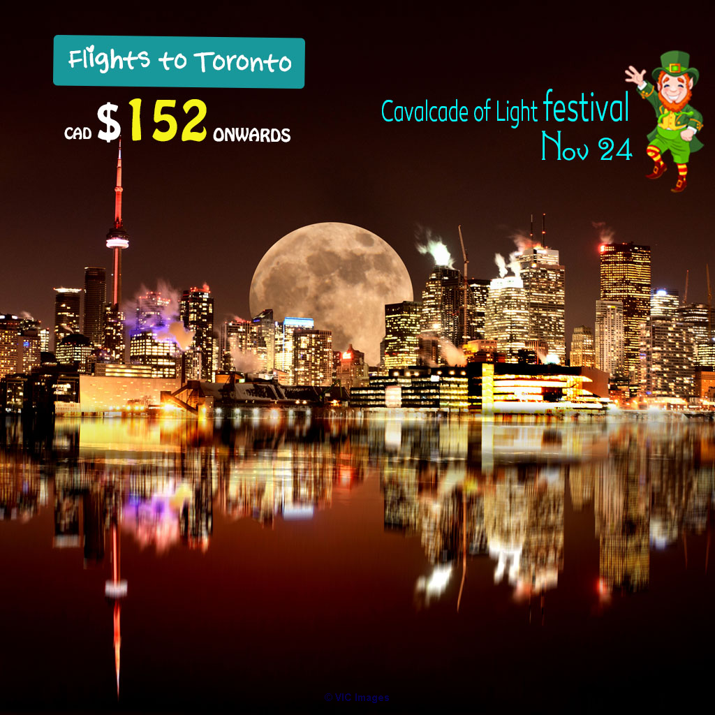 One way Cheap Air Tickets|Edmonton- Toronto | from CAD $152  Onwards ottawa