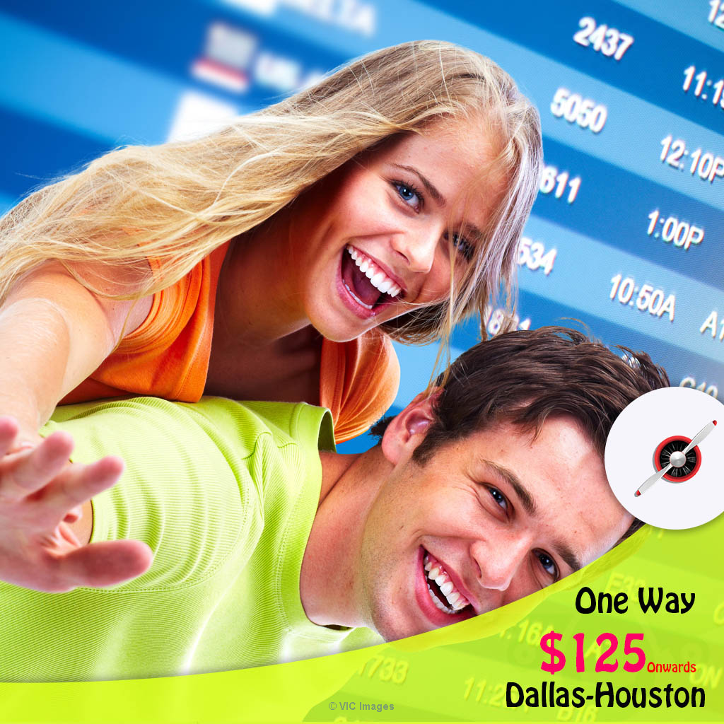 One way cheap air Tickets | Dallas-Houston | CAD $125 onwards Ottawa, Ontario, Canada Classifieds