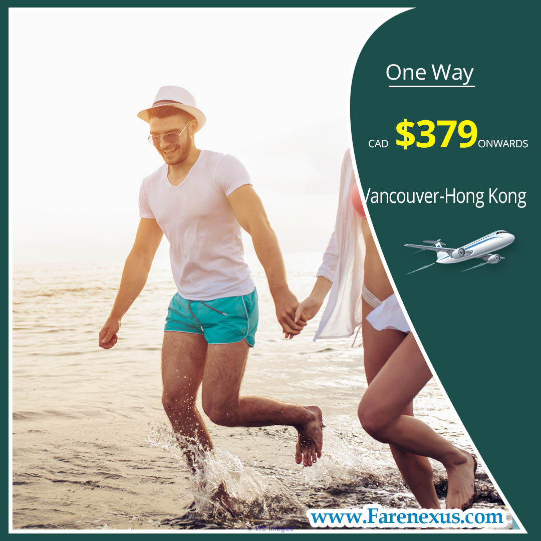 One way cheap air Tickets | Vancouver-Hong Kong |CAD $379 onwards Ottawa, Ontario, Canada Classifieds