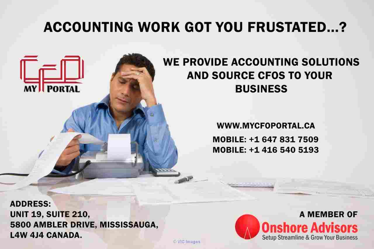 WE PROVIDE ACCOUNTING SOLUTIONS AND SOURCE CFOs TO YOUR BUSINESS. Ottawa, Ontario, Canada Classifieds