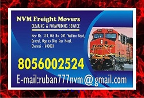 Leading  NVM freight Movers No. one in Chennai Freight Movers  | ottawa