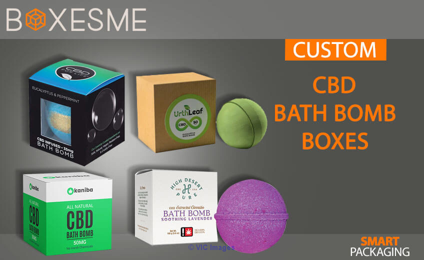 Get Your CBD Bath Bomb Boxes From us in USA