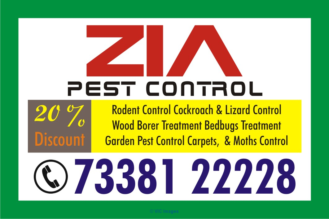 Zia Pest Control complete hassle free safe Service 7338122228