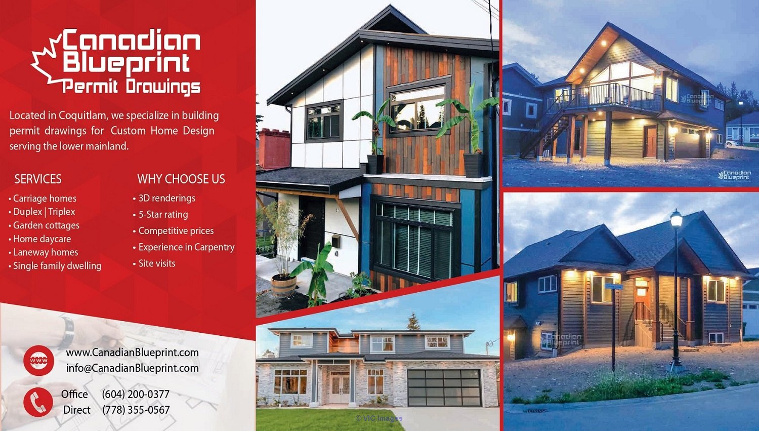 Canadian Blueprint | Building Permit Drawings | Drafting Services