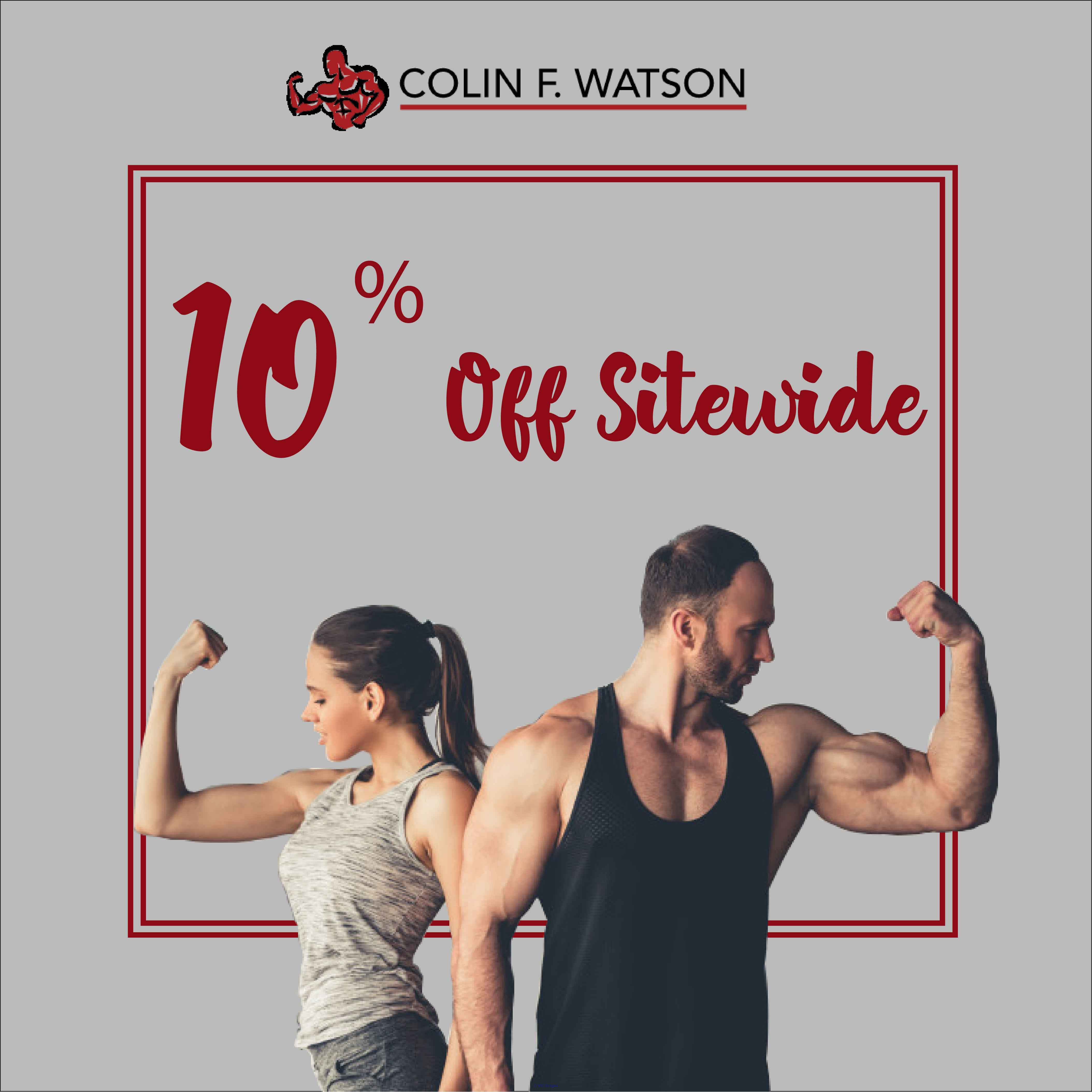 Colin F Watson Coupon Codes | 55% OFF