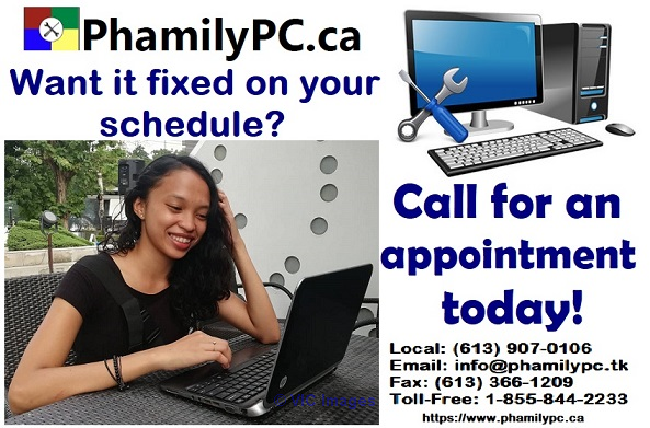 Wide range of computer repair and services to home and business. ottawa